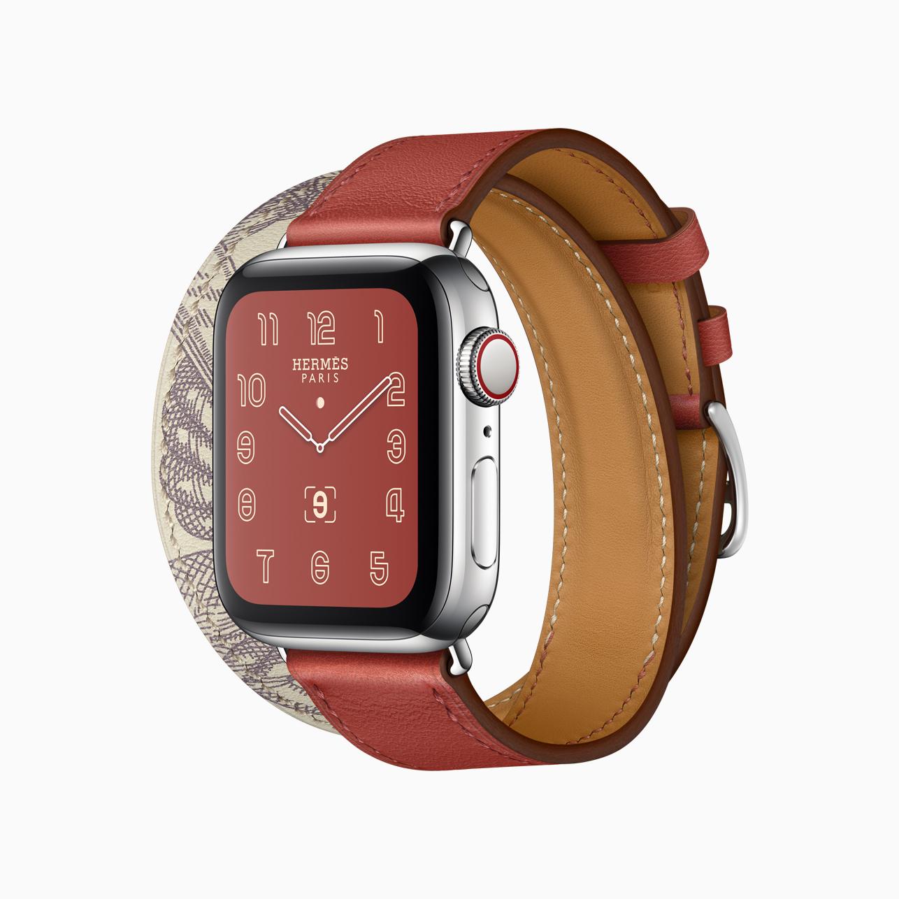 Η ώρα είναι Apple Watch Hermès Series 5