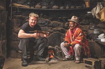 Celebrity chef: Ταξίδι και φαγητό με τον Gordon Ramsay