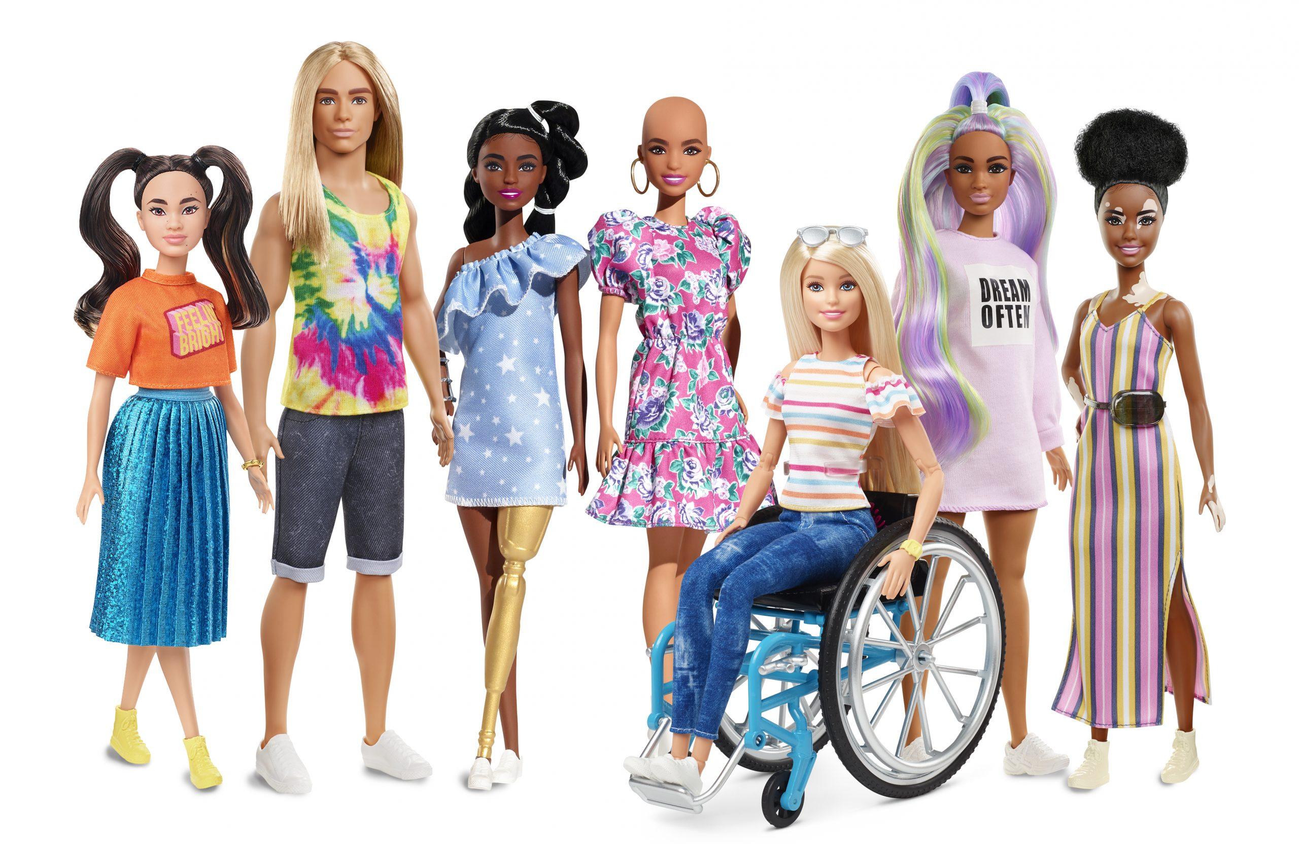 H Barbie προάγει τη διαφορετικότητα