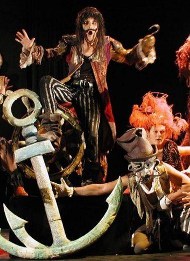 Το Μαύρο Θέατρο της Πράγας παρουσιάζει τον Πήτερ Παν