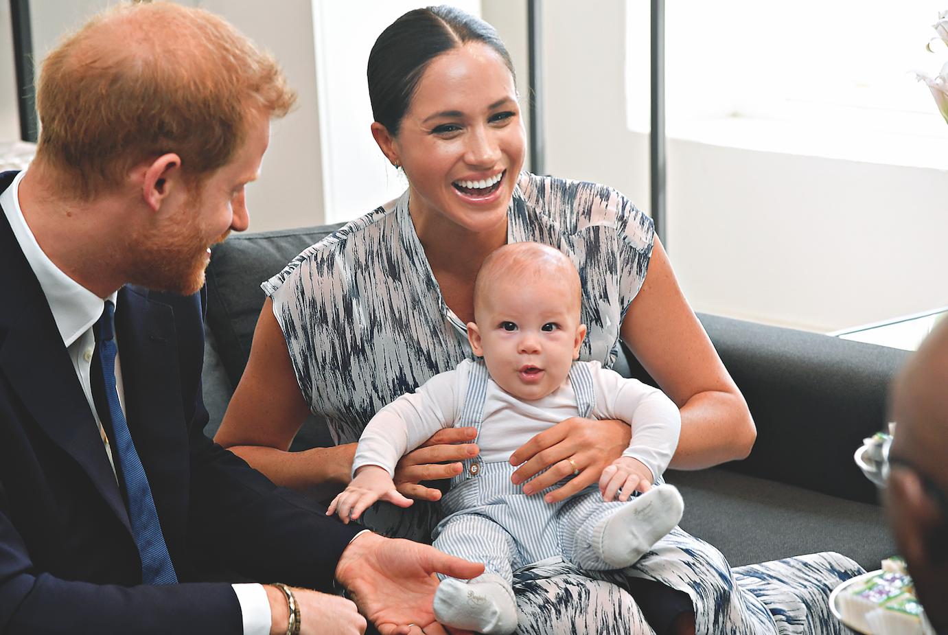 Πώς γιόρτασαν ο Harry και η Meghan τα πρώτα γενέθλια του γιου τους