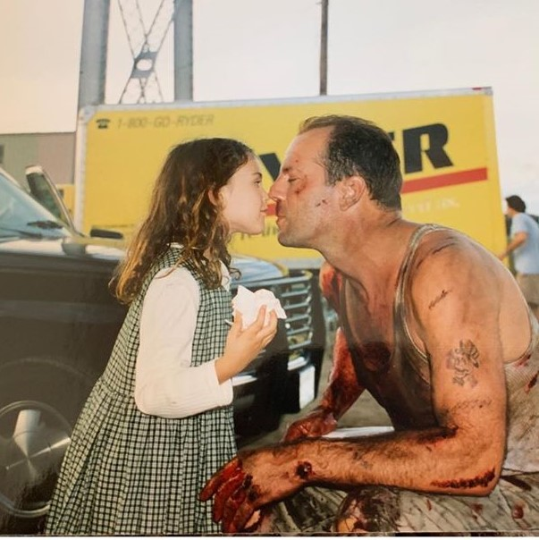 Blast from the past: Ο Bruce Willis και η κόρη του, πριν από 26 χρόνια