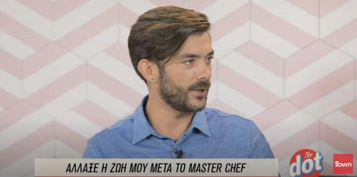 """Γιώργος Λασκαρίδης – MasterChef: """"Ζήτησα συγνώμη από την Κατερίνα κι απ' όλες τις κομμώτριες"""""""