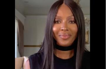 Naomi Campbell: Εγκαινίασε την ψηφιακή εβδομάδα μόδας με ένα δυνατό μήνυμα για τη διαφορετικότητα