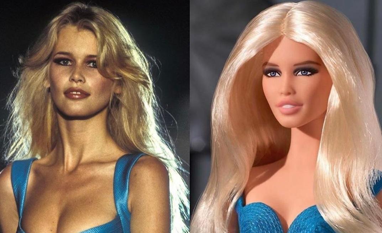 Claudia Schiffer: Επιτέλους, έγινε Barbie!