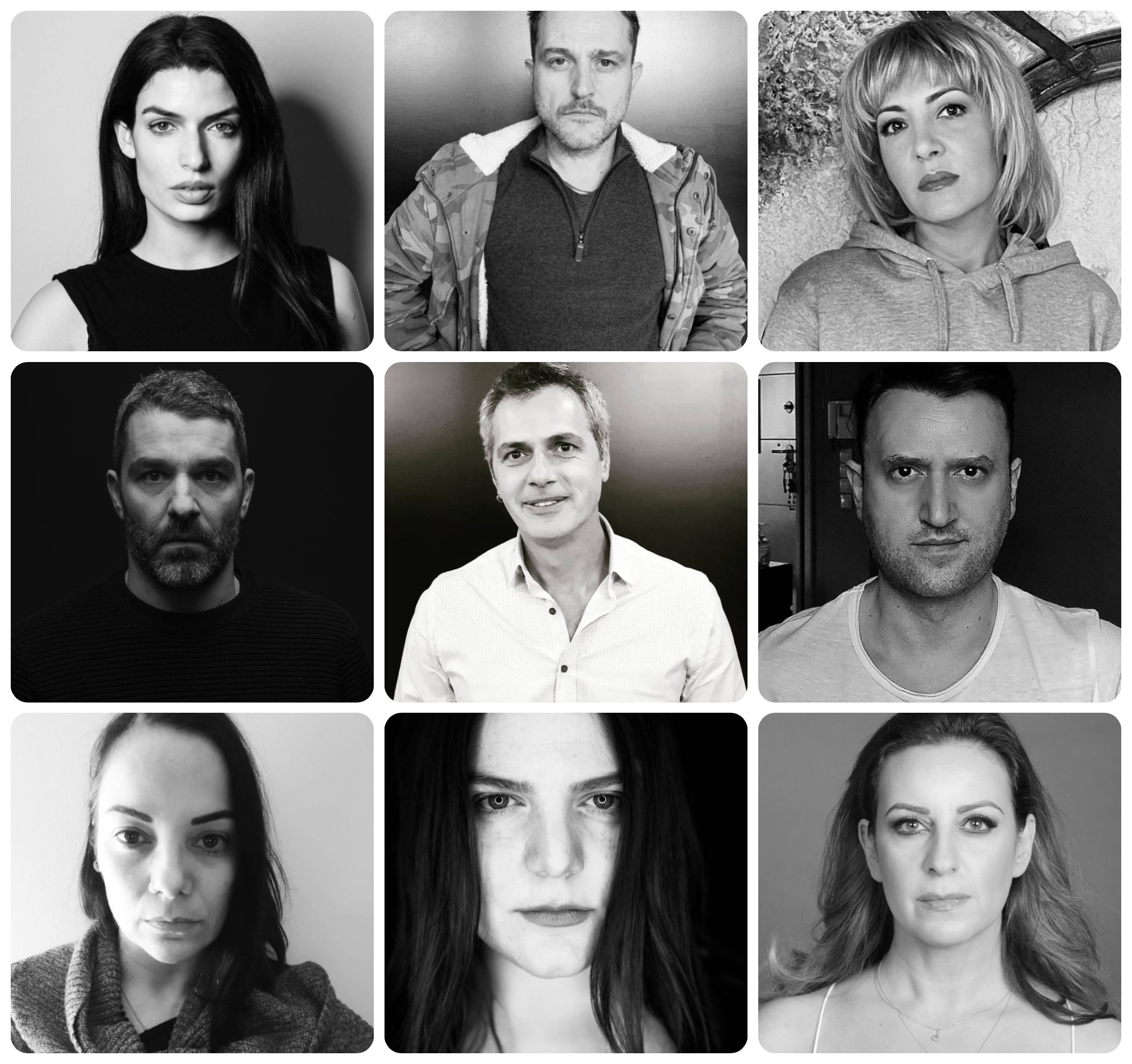 #Εimasteoloimazi: Έλληνες ηθοποιοί στηρίζουν συναδέλφους τους που υπέστησαν βία