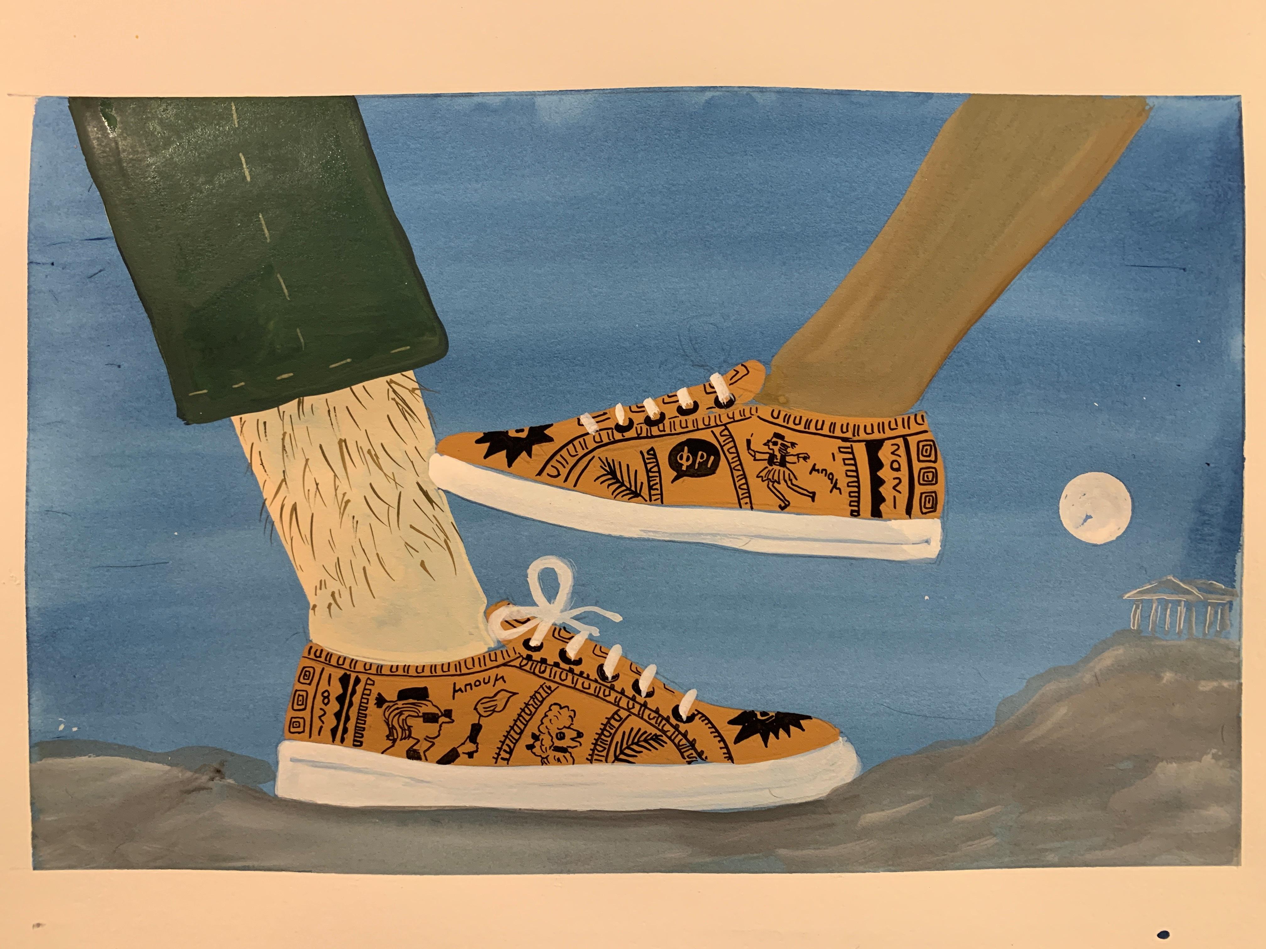 Ένα ιδιαίτερο παπούτσι για τα 200 χρόνια από την ελληνική επανάσταση